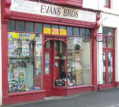 Evans Bros Shop, Menai Bridge