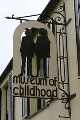 Museum of Childhood sign, Beaumaris