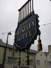 Bulkeley Hotel sign, Beaumaris