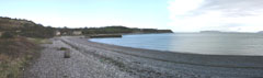 A panoramic shot of Penmon on Anglesey