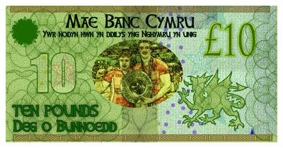 welsh money