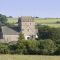 Ewenny Priory from the outside by Revd Mike Komor