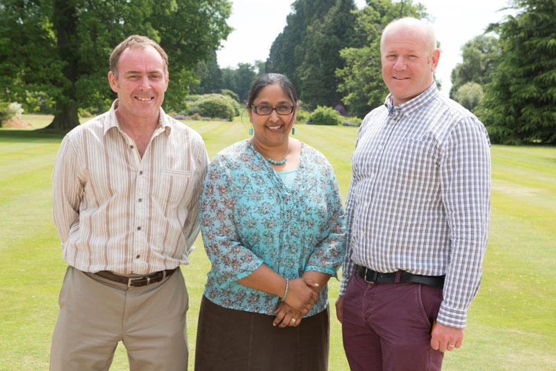 Scott Cawley, Neera Agawal and Justin Warner