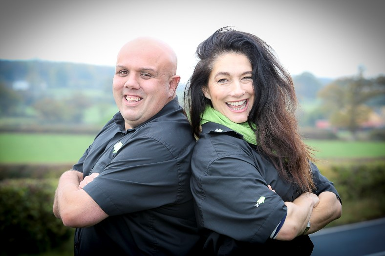 'You Train' is about to launch with Diane Youdale and Steve Williams. Pictured: Steve Williams and Diane Youdale