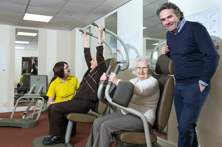 Swansea Residents Enjoy New 25000 Care Home Gym