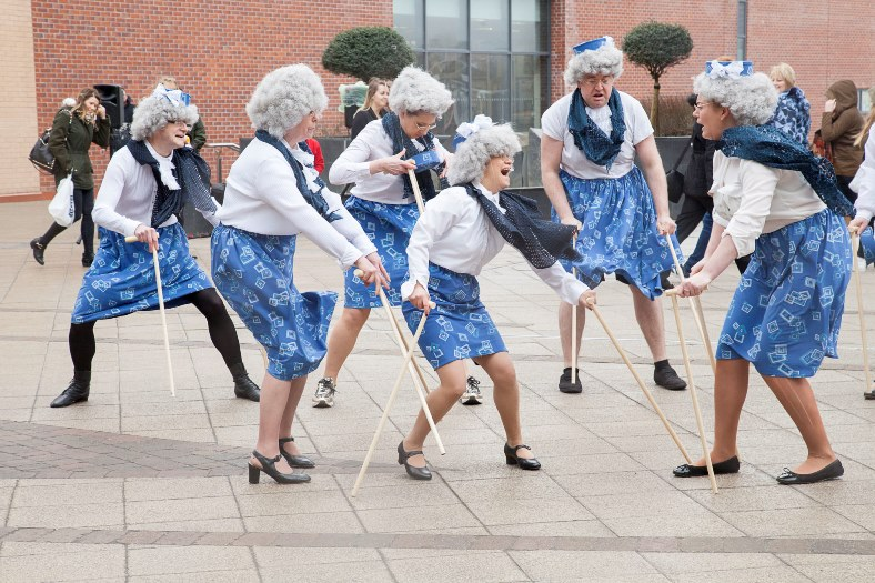 """Preview Pic for the Llangollen Operatic Society with 'The Producers"""" performing at Eagles Meadow in Wrexham"""