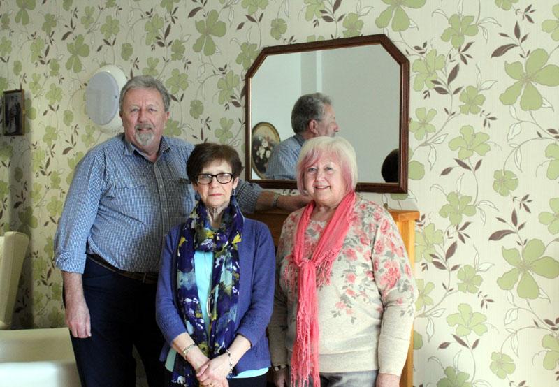 George Drummond, Lyn James and Susan Beck