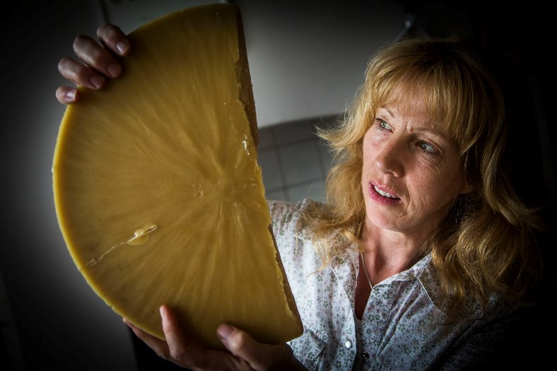 Carol Allen of Llanvalley Natural Products will bet at Llangollen Food Festival later this year. With the beeswax she uses.