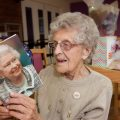 PENDINE PARK RESIDENT LILY VAUGHAN CELEBRATED HER 100TH BIRTHDAY... Pictured is lily Vaughan .