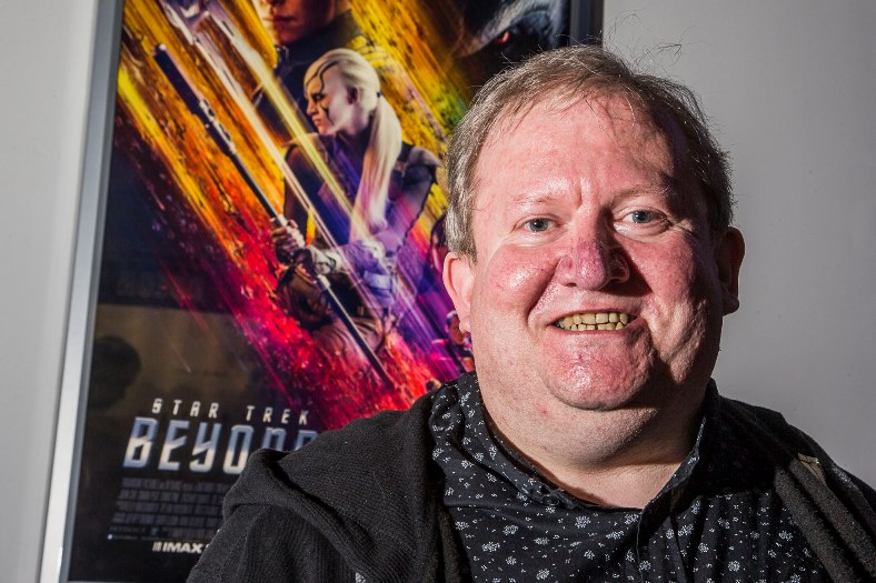 Fluent Klingon speaker Alex Green who will be reciting Klingon poetry at the Odeon, Eagles Meadow for the launch of the latest Star Trek movie later in the month.
