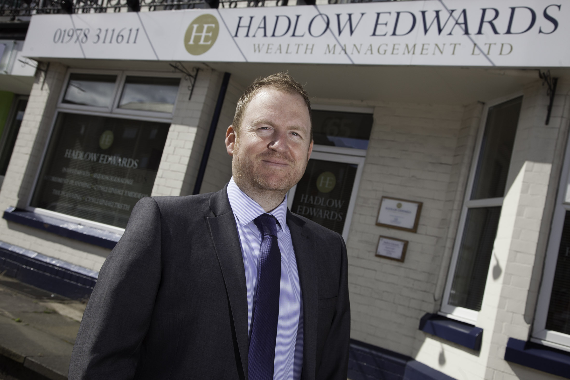 Hadlow Edwards Pictured is mortgage advisor Johnathan Peatfield.