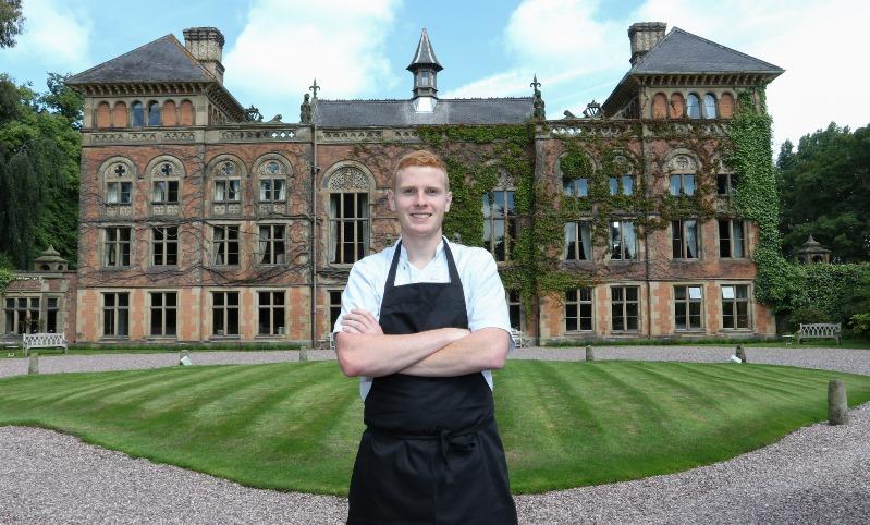 RM060716A Soughton Hall New chef Scott Graham