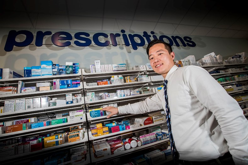 Sungdae Kim who is Boots Wrexham's new pharmacist and comes from South Korea