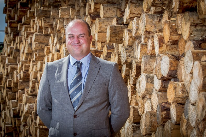 Clifford Jones Timber, Ruthin. Pictured: Chairman Richard Jones