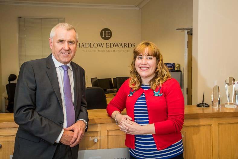 Medwyn Edwards, Hadlow Edwards Director with Ema Pennington is a big personal supporter of the Nightingale House Hospice in Wrexham. Unfortunately her dad Bill Caldwell passed away there five years ago.