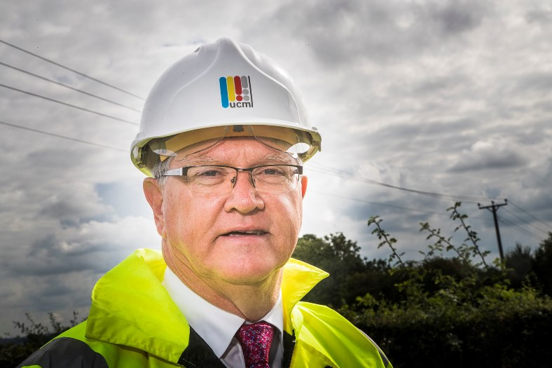 Arwel Lloyd, MD of Utilities Connections Management, Wrexham.