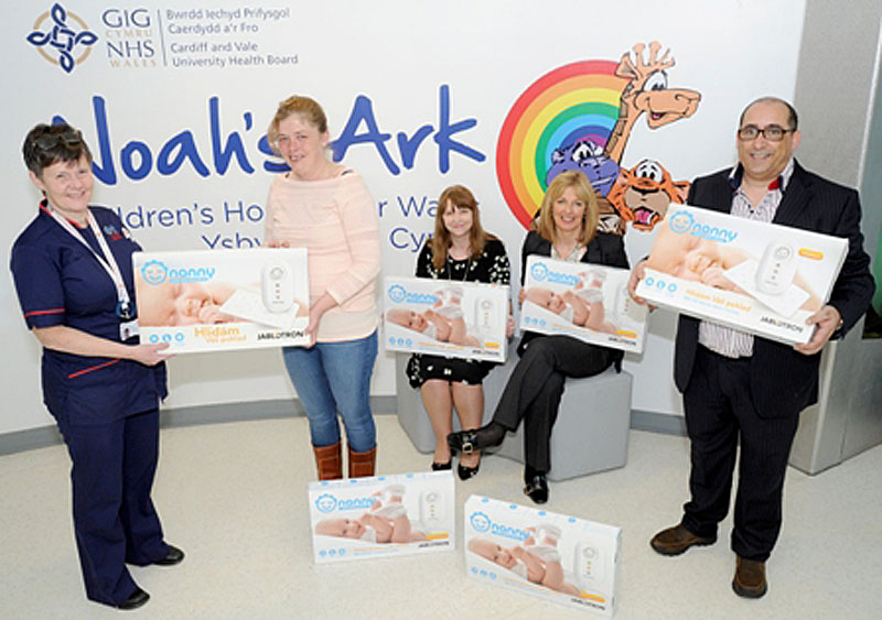 Avril Gowman, Senior Nurse for the Noah's Ark Children's Hospital for Wales Claire O'brien, Angela Hughes, Acting Assistant Director of Patient Experience, Cardiff and Vale University Health Board, Cath Heath Director of Nursing, Children and Women's Clinical Board Michael O'brien