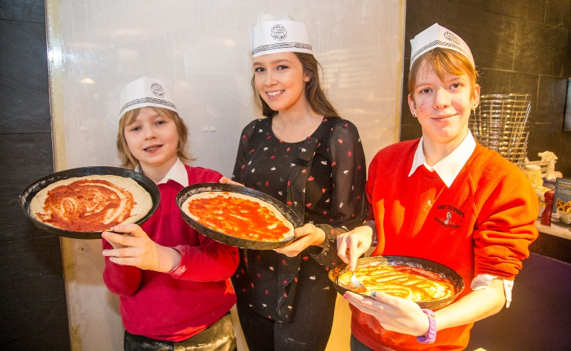 Welsh Icons News Culinary Kids Get A Pizza The Action At